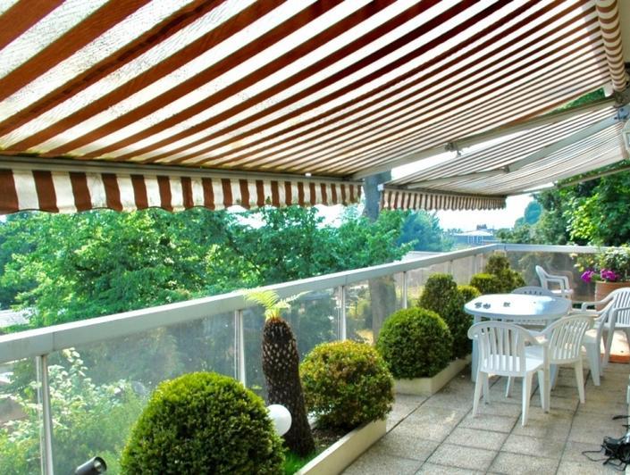 appartement terrasse avec vue plein sud