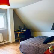 A vendreprox Mont Saint Aignan maison indépendante sur sous sol complet avec garage et jardin clos et terrasse.