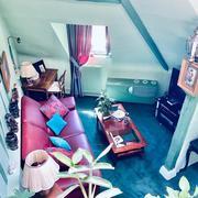 A vendre Rouen centre historique,  au dernier étage d'une petite copropriété très bien tenue ,cet original appartement duplex de caractère T3