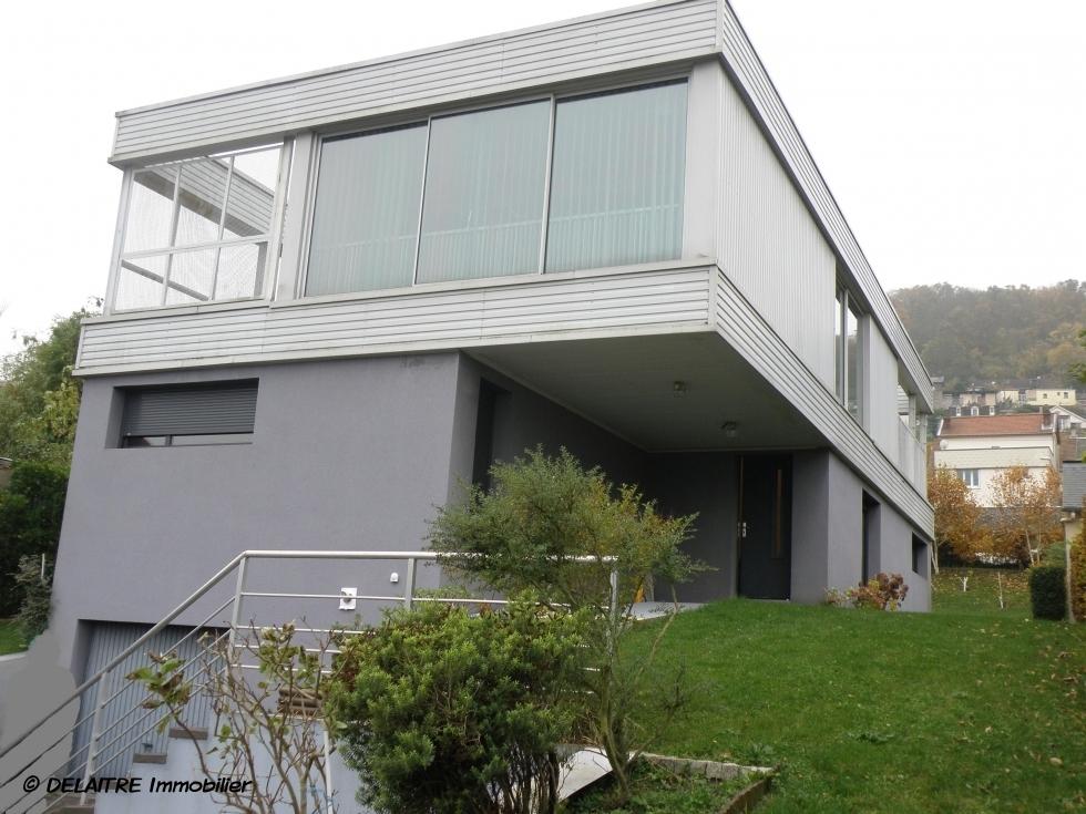 Agence immobilier rouen maison contemporaine d 39 architecte sejour 70 m baies vitrees - Chambre d agriculture 76 bois guillaume ...