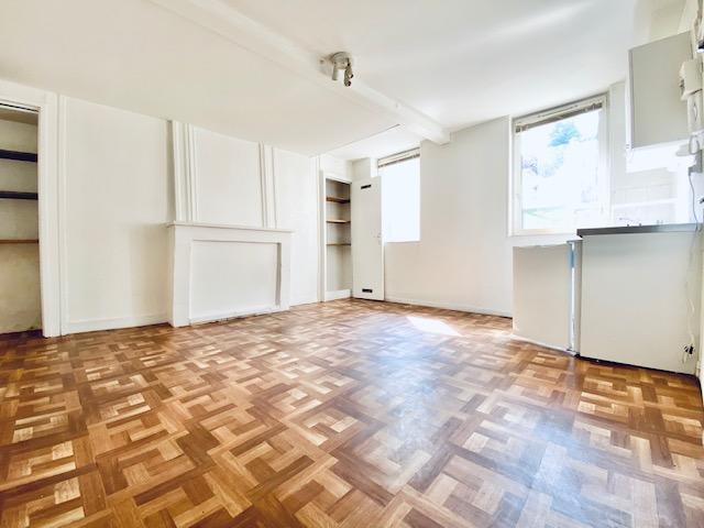 à vendre , à acheter Rouen rive droite CHU , Boulingrin studio de 22 m2 à remettre au gout du jour.