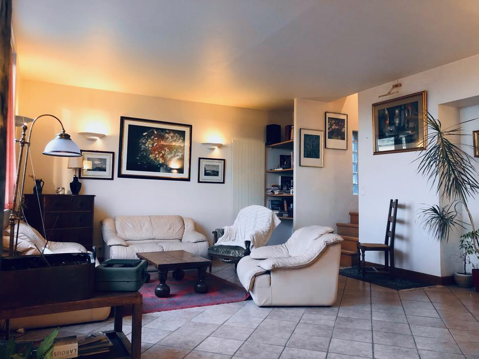A vendre Rouen gare jouvenet appartement duplex T8 avec deux caves et deux garages