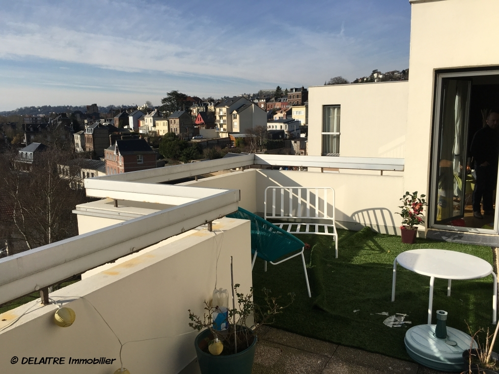 A acheter rouen chu appartement terrasse garage parking 3 for Terrasse en vue immobilier
