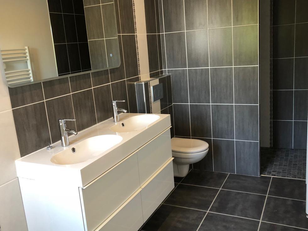 salle de douches à l'italienne