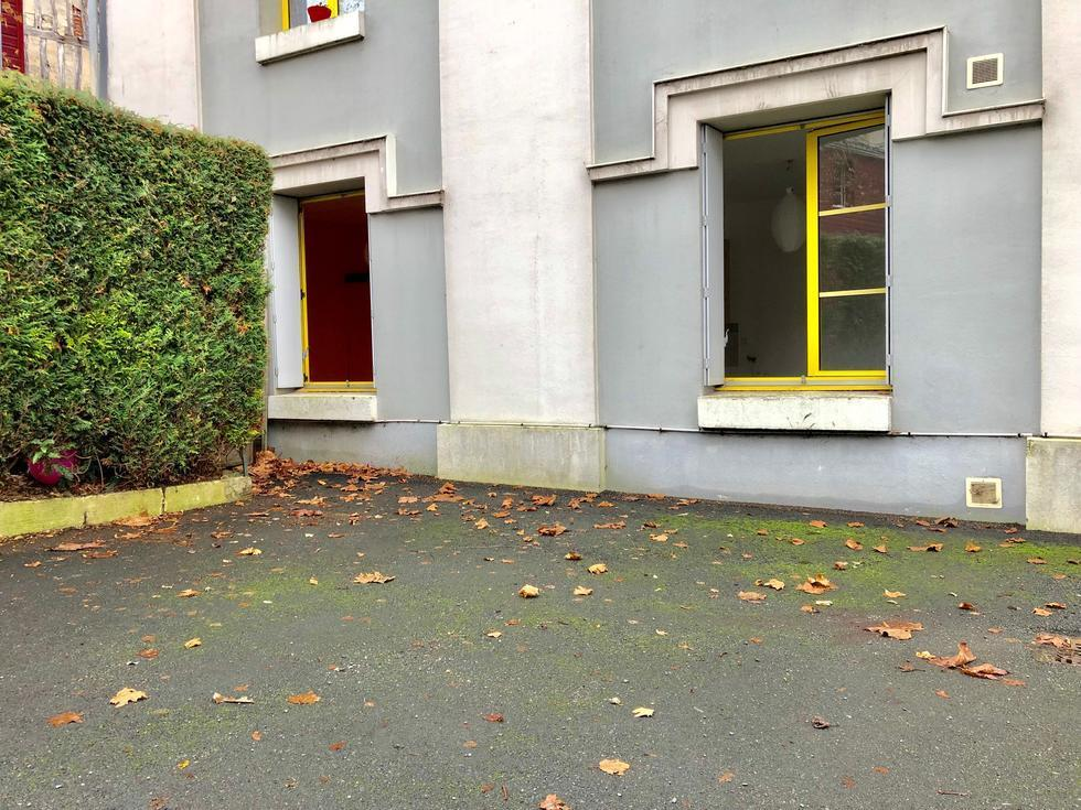 façade immeuble sur cour