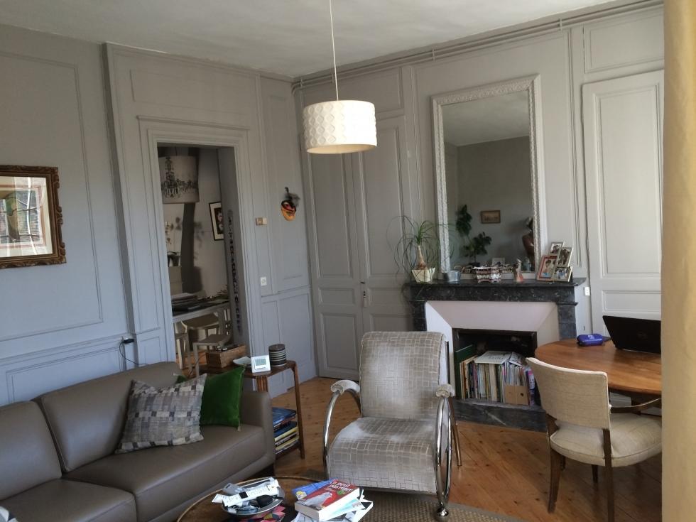 achat vente rouen immobilier appartement duplex de charme. Black Bedroom Furniture Sets. Home Design Ideas