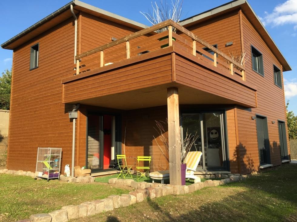 Originale maison ind pendante de 170 m2 vue d gag e av for Agrandissement maison 170 m2